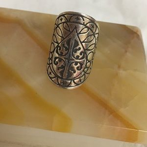 The Fifth Element Life sterling mandala ring
